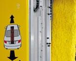 Tydligt. Programindikator med LED-teknik som ger tydliga instruktioner i maskinens front för positionering av fordon i tvätten