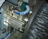 HÅLLBART. Viktiga detaljer tillverkade i aluminium och plast för lång livslängd på maskinen.